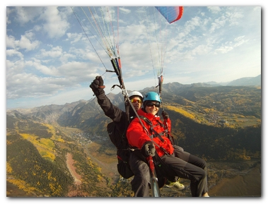 Tandem Flight Paragliders